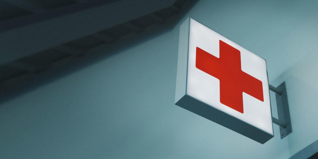 dental emergency sign