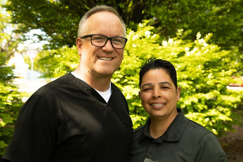 Elivia and Dr. Jeff Morgan